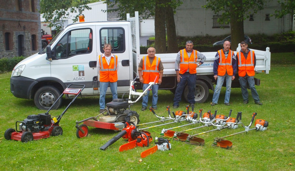 Adaci adeli groupe for Espace vert nord